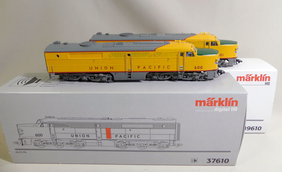 Märklin 37610 u. 49610 Union Pacific Alco Pa