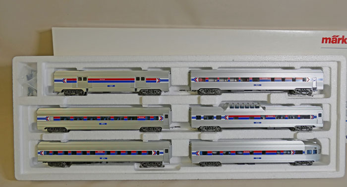 "Märklin 43600 USA Express-Zug ""Amtrak"""