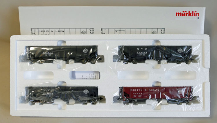 "Märklin 45801 NYC Wagen-Set ""Hopper Car"""
