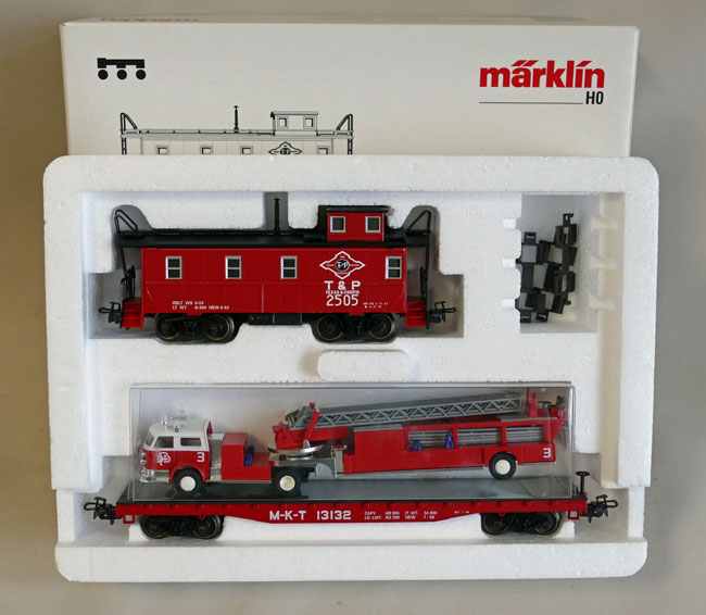 "Märklin 4580 USA Wagen-Set ""Texas"""