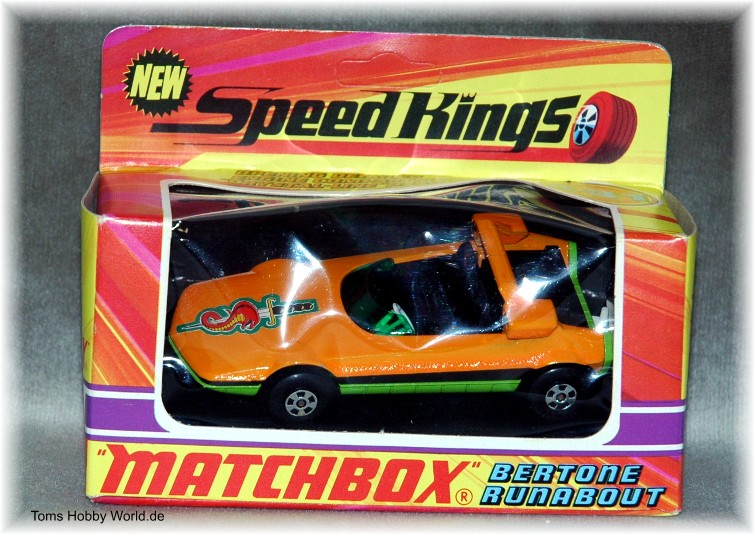 Matchbox SpeedKings K-31 Bertone Runabout