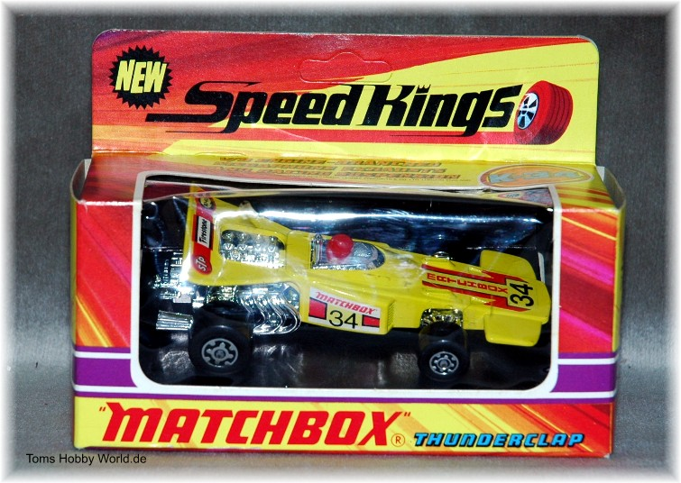 Matchbox SpeedKings K-34 Thunderclap