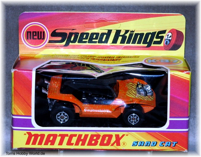 Matchbox SpeedKings K-37 Sand Cat