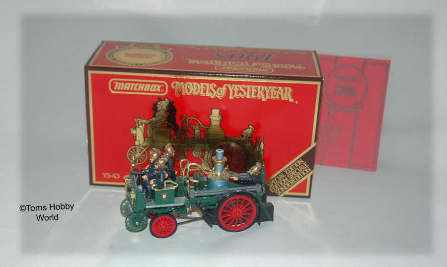 models of yesteryear YS-43 Busch Fire Engine