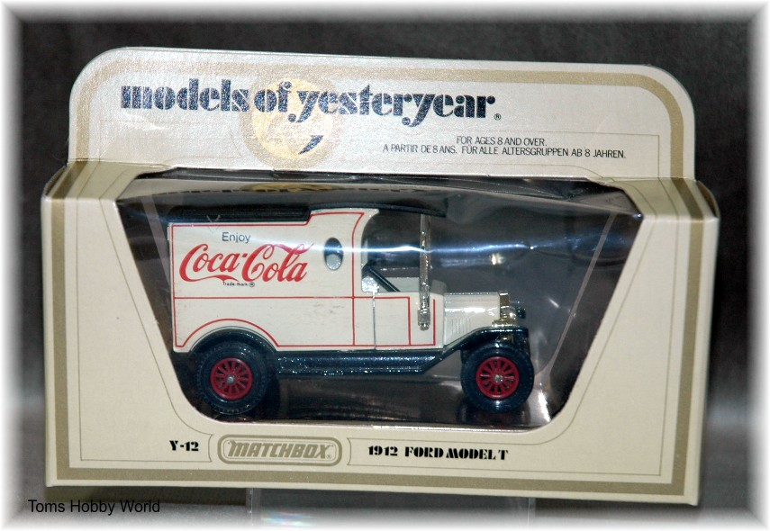 models of yesteryear Y-12 Ford Model T Coca Cola