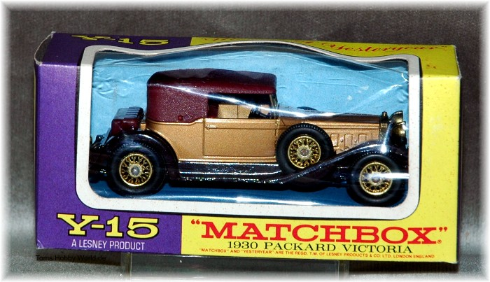 models of yesteryear Y-15 Packard Victoria