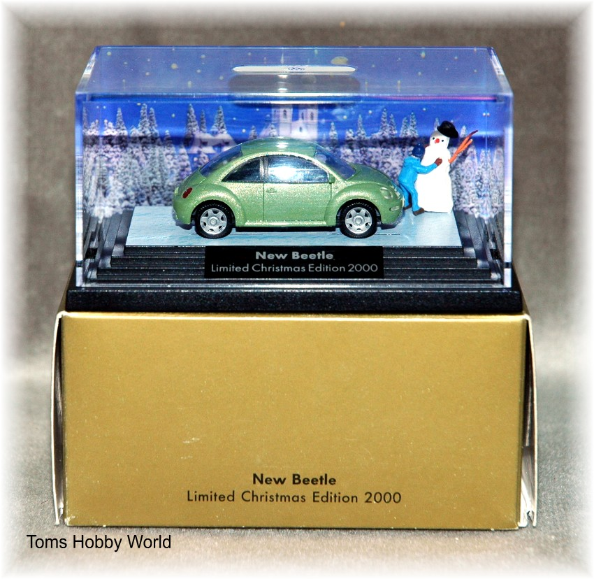 Wiking New Beetle Christmas Edition 2000