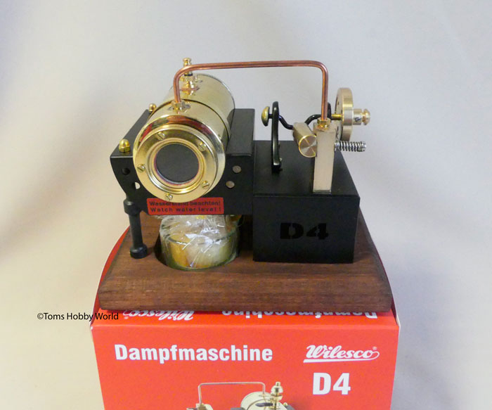Wilesco Dampfmaschine D 4