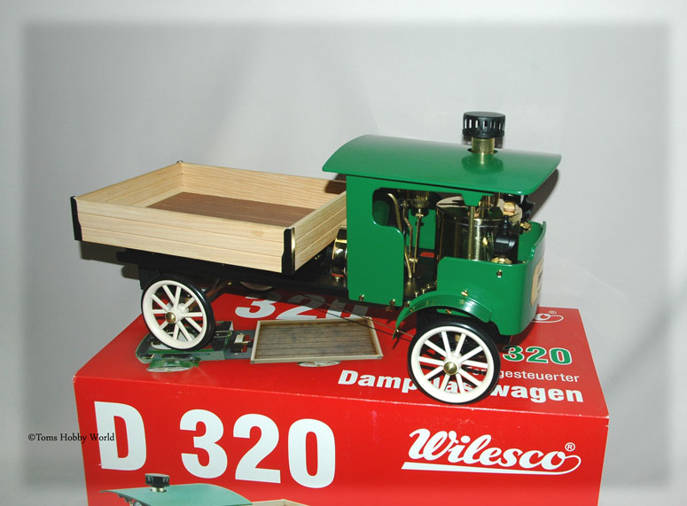 Wilesco D 320 Dampf-Lastwagen